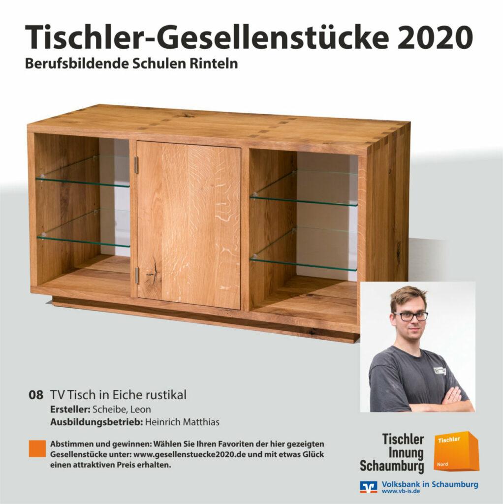Bild Nr. 08 - TV Tisch in Eiche rustikal