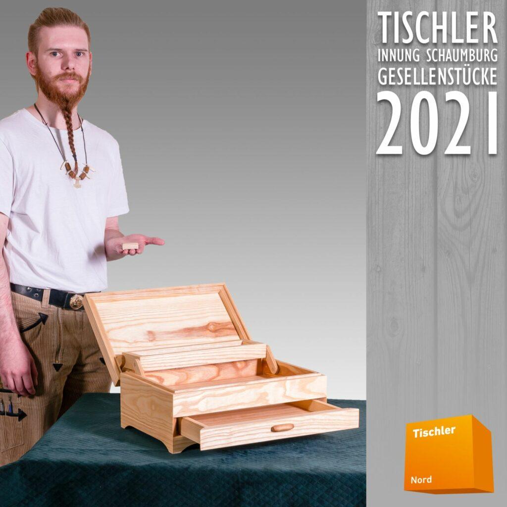 Bild 04 - Schmuckschatulle aus Eschenholz geölt und gewachst